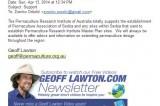 Pozdravi koje nam je uputio Džef Loton (Geoff Lawton)