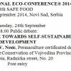 O permakulturi u Novom Sadu na Eko-konferenciji Sigurna hrana
