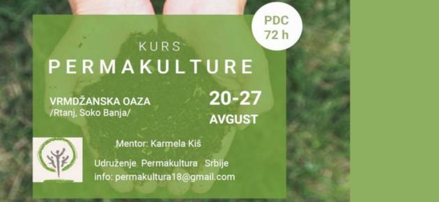 Permakulturni kurs PDC u avgustu 2019.