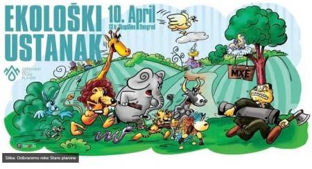 Ekoloski ustanak karikatura