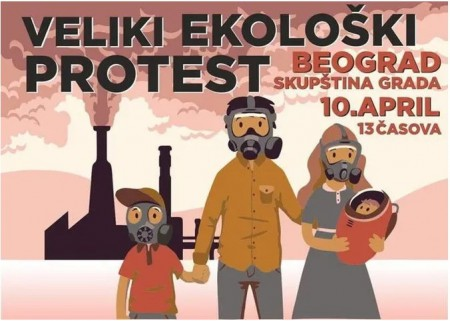 Ekoloski ustanaka plakat